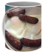 Yum Sausages And Eggs Coffee Mug