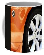 Z Emblem Wheel Coffee Mug