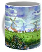 Zaanse Schans Windmills Coffee Mug
