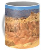 Zabriskie Point Medium Panorama Coffee Mug