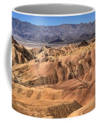 Zabriskie Point Panorama 2 Coffee Mug