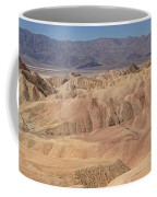 Zabriskie Point Panorama Coffee Mug