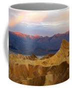 Zabriskie Point Sunrise Death Valley Coffee Mug