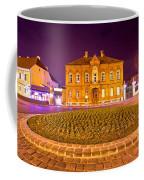 Zagreb Street Architecture Night Scene Coffee Mug