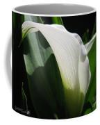Zantedeschia Named Crystal Blush Coffee Mug