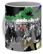 Zapata And Villa  Convencionista Army Mexico City December 6 1914-2013 Coffee Mug