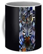 Zebra Dreams Coffee Mug