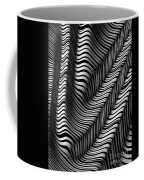 Zebra Folds Coffee Mug