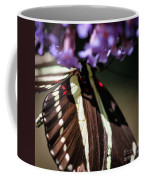 Zebra Heliconian Heliconius Charithonia Coffee Mug