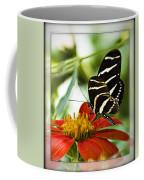 Zebra Longwing 2 Coffee Mug