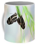 Zebra Longwing Butterflies Mating Coffee Mug