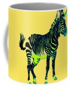 Zebra Pop Art Coffee Mug