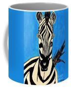 Zebra Portrait 5 Coffee Mug