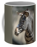 Zebra Profile Coffee Mug