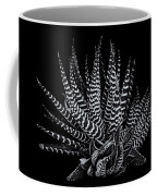 Zebra Succulent Coffee Mug