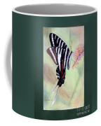 Zebra Swallowtail Butterfly By George Wood Coffee Mug