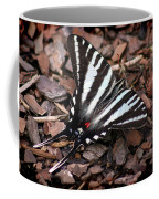 Zebra Swallowtail Butterfly Coffee Mug