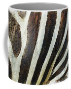 Zebra Texture Coffee Mug by Ayse Deniz