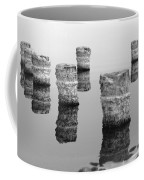 Zed Black And White Coffee Mug