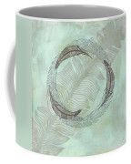 Zen Feather Circle I I Coffee Mug