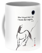 Zen Horse Releasing Coffee Mug