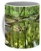 Zen In The Forest Coffee Mug