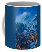Zermatt - Winter's Night Coffee Mug