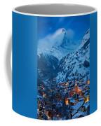 Zermatt - Winter's Night Coffee Mug