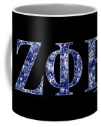 Zeta Phi Beta - Black Coffee Mug