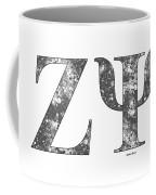 Zeta Psi - White Coffee Mug