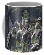 Zeus Bronze Statue Dresden Opera House Coffee Mug by Jordan Blackstone