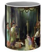 Zeuxis Choosing A Model For Helen Coffee Mug