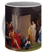 Zeuxis Choosing His Models For The Image Of Helen From Among The Girls Of Croton Coffee Mug