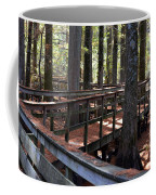 Zig Zag Thru The Cypress Trees Coffee Mug