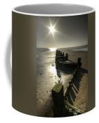 Zigzag Sunset Coffee Mug
