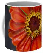 Zinnia In The Rain Coffee Mug