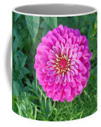 Zinnia - Pink Coffee Mug
