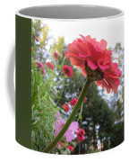 Zinnia Side View Coffee Mug