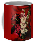 Zinnias And Gladiolas Coffee Mug