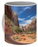 Zion Mount Carmel Highway Coffee Mug