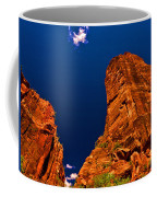 Zion National Park Oil On Canvas Coffee Mug