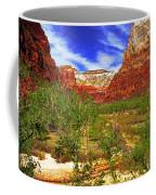 Zion Park Canyon Coffee Mug