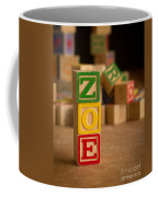 Zoe - Alphabet Blocks Coffee Mug