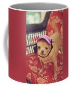 Zoe's Visor Coffee Mug by Laurie Search