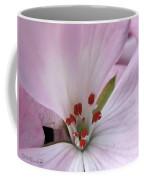 Zonal Geranium Named Tango Light Orchid Coffee Mug