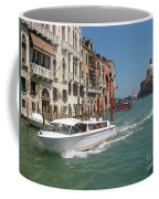 Zooming On The Canals Of Venice Coffee Mug