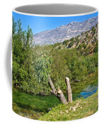 Zrmanja River And Velebit Mountain Coffee Mug