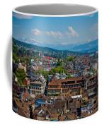 Zurich From The Grossmunster Coffee Mug
