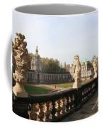 Zwinger Courtyard  Dresden  Coffee Mug