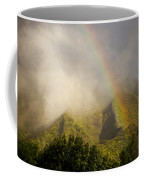 A Rainbow Shines Over The Rugged Coffee Mug by Taylor S. Kennedy